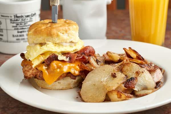 Henhouse Breakfast Sandwich
