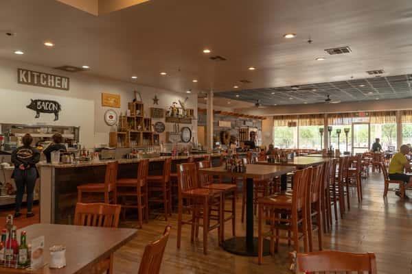 Henhouse Cafe Interior