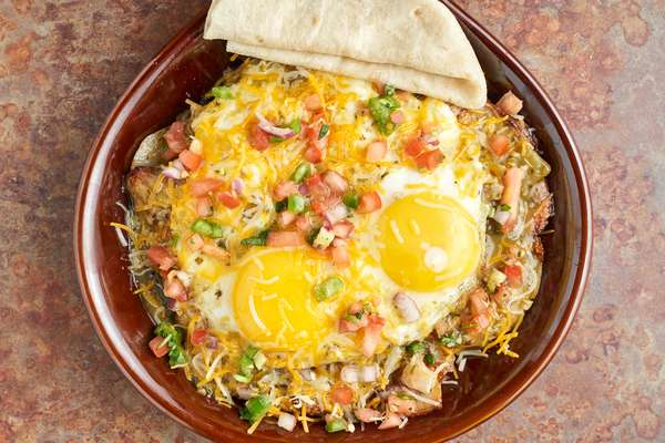 Green Chile Omelet