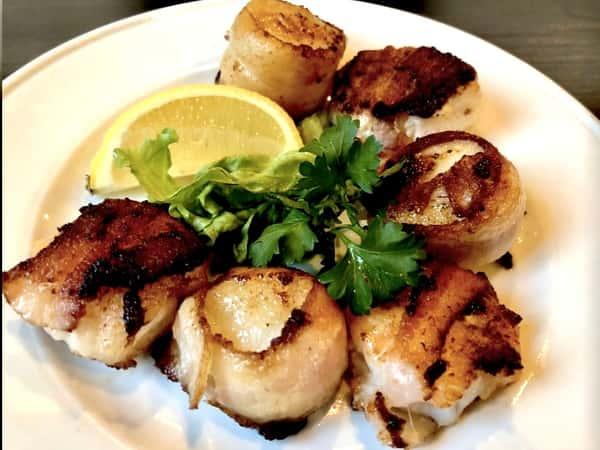 Shrimp Scallops Bacon