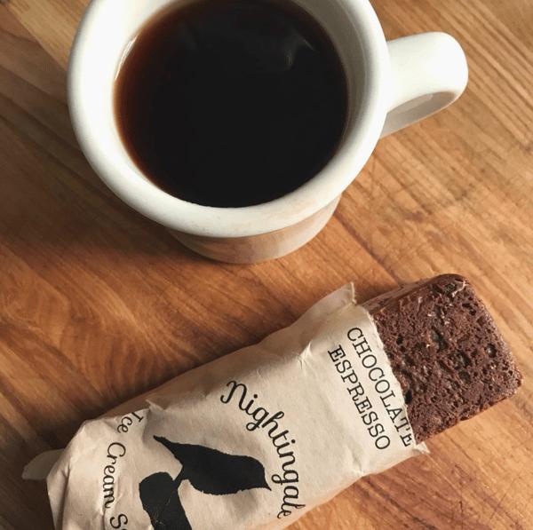 Chocolate Espresso Ice Cream Bites