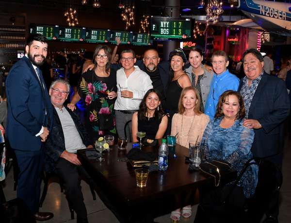 Friends visiting Vegas Grand Opening