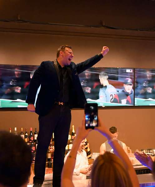 Founder Alex celebrating Vegas Grand Opening