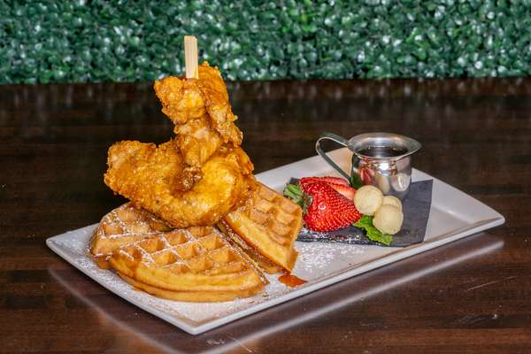 Chicken & Waffles - Served All Day
