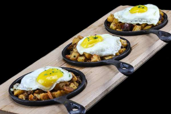 Cast Iron Hash Flight- Served All Day