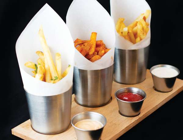 Our Signature French Fries Flight