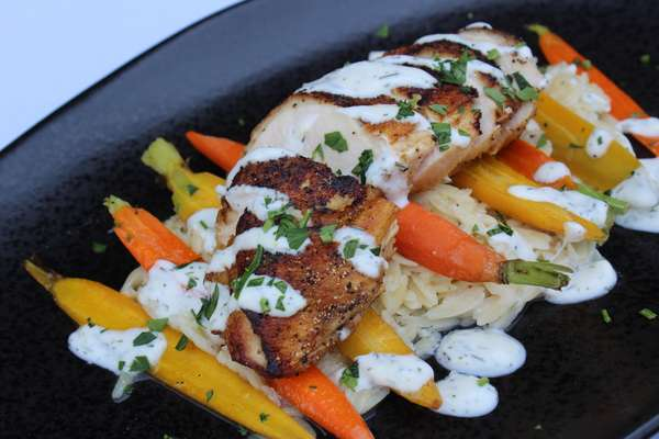 Pan Roasted Mary's Chicken