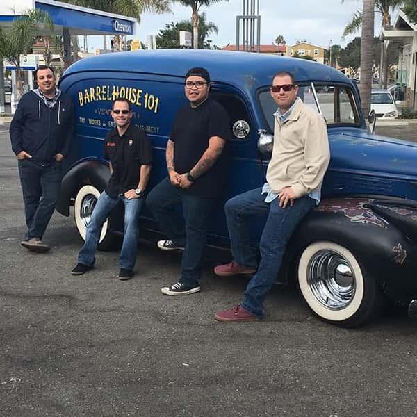 men with truck