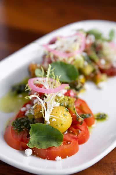 Heirloom Tomato & Watermelon Panzanella