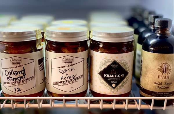 Different fermented food products