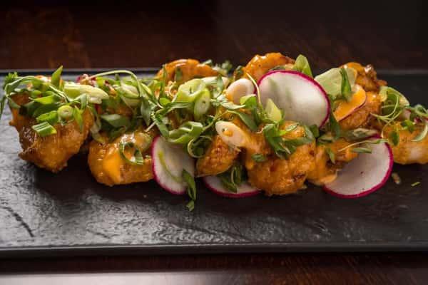 Chili Garlic Crispy Shrimp