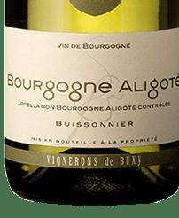 Vignerons de Buxy Bourgogne Aligote 2018, France