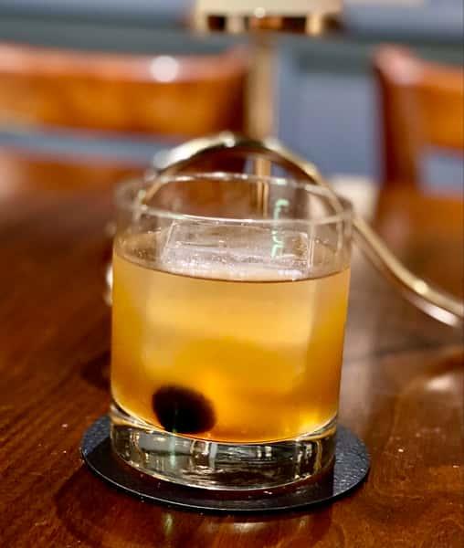 Honey Peach Old Fashioned