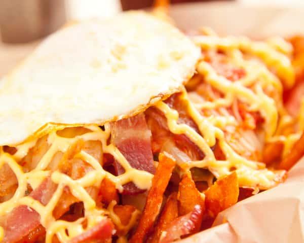 Kimchi Sweet Potato Fries