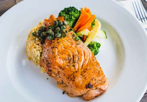 Grilled Fillet of Salmon