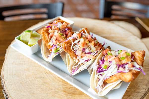 Tacos De Pescado Estilo Ensenada (Baja Style Fried Fish)