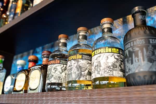 Print Tequila Bottles 1