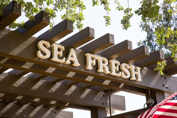 sea fresh exterior signage
