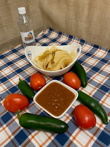 Chips and Hot Sauce