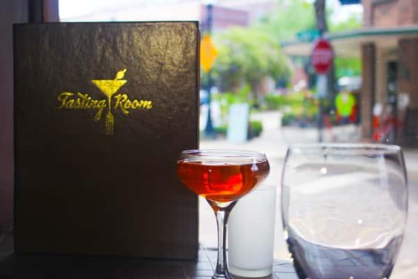 tasting room menu