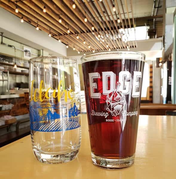 Edge beer glasses
