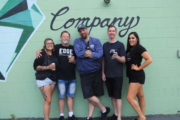 Edge Brewing staff