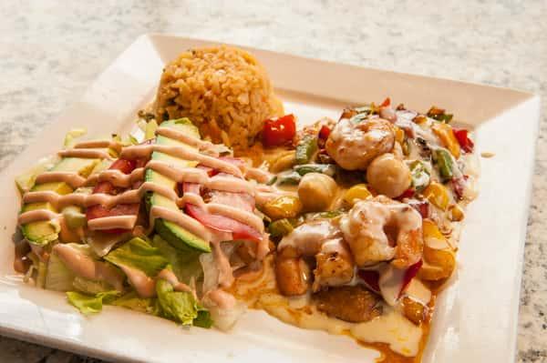 Seafood Poblano