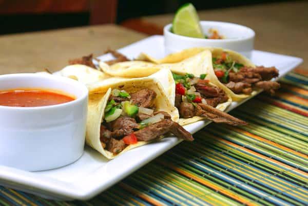 *Grilled Steak Tacos (3)