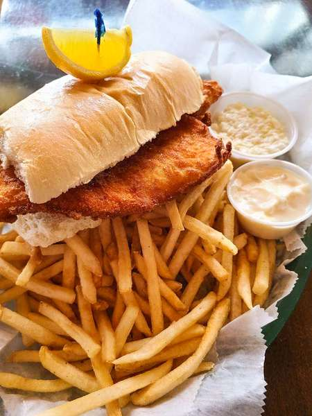 The Whaler Fish Sandwich