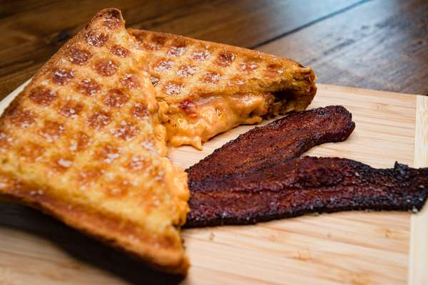 grilled cheese and bacon