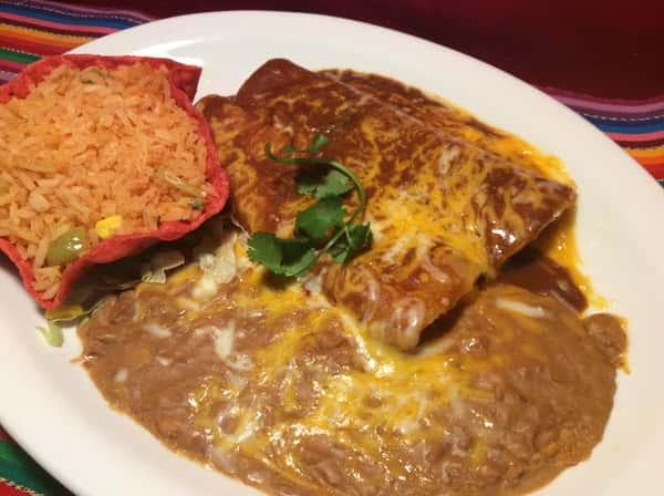 Combo # 5. Two Enchiladas