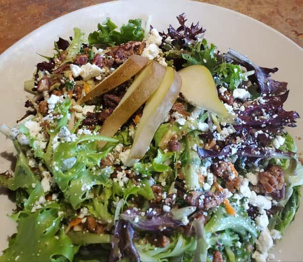 Pear, Pecan, & Bleu Salad