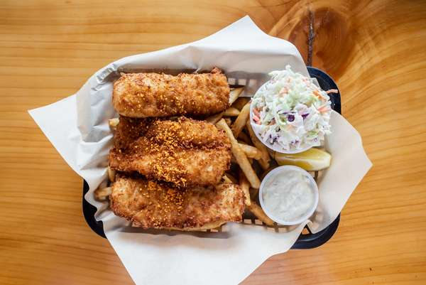 Alaskan Cod Fish-n-Chips