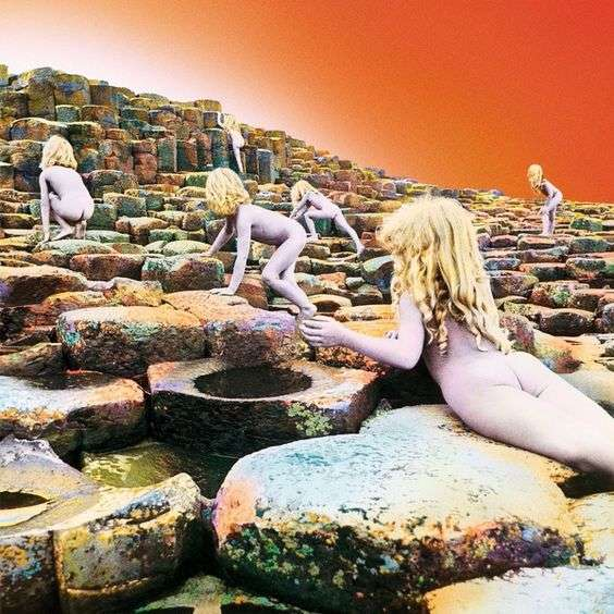 led zeppelin album cover