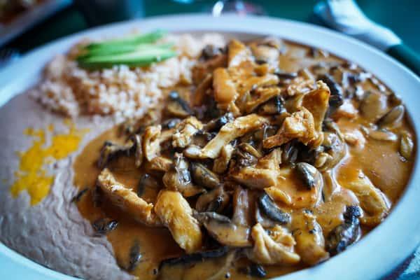 chicken chipotle dish