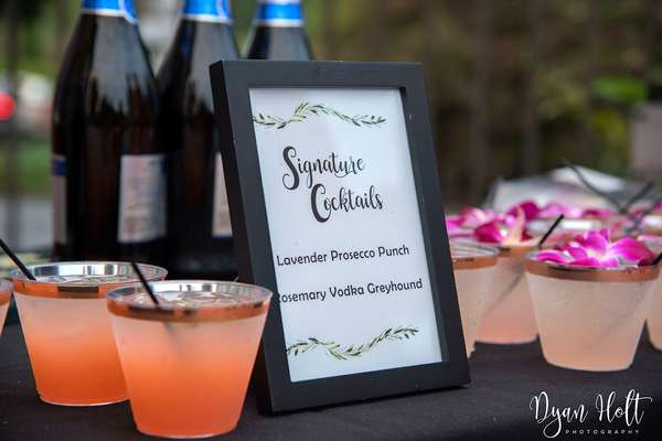 signature cocktails for catering