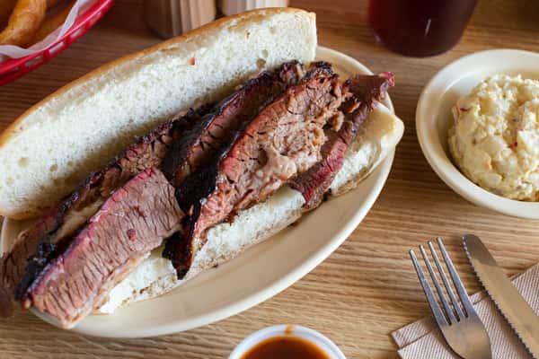 Sliced Beef Po-Boy