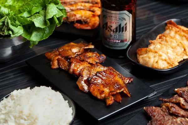 spicy pork belly