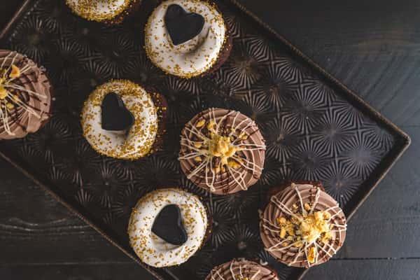 darker cupcakes