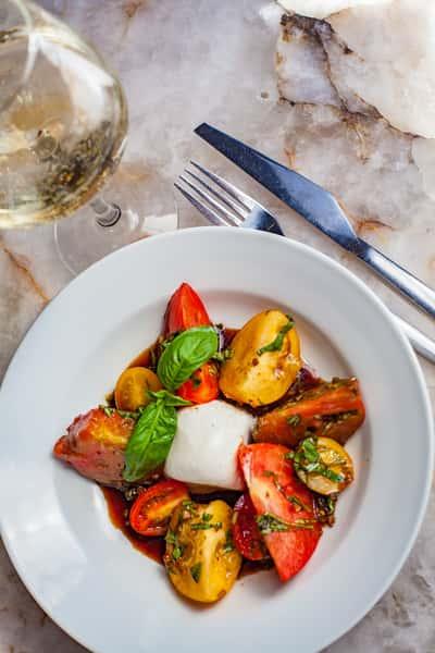 Heirloom Tomato and Burrata