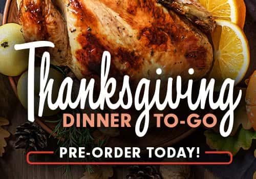 Thanksgiving To-Go Dinner
