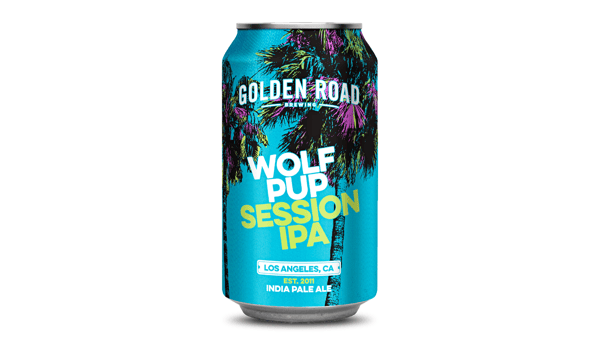 """Golden Road """"Wolf Pup"""" Session IPA (4.5%)"""