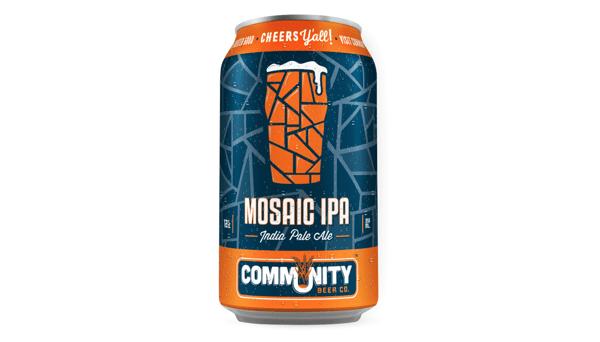 "Community Brewing Co. ""Mosaic IPA"" (8.6%)"