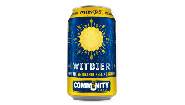 """Community Brewing Co. """"Witbier"""" (5.2%) [12oz CAN]"""