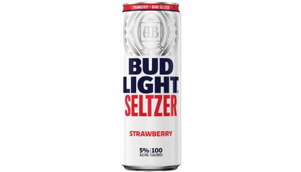 "Bud Light Seltzer ""Strawberry"" (5%) [12oz CAN]"