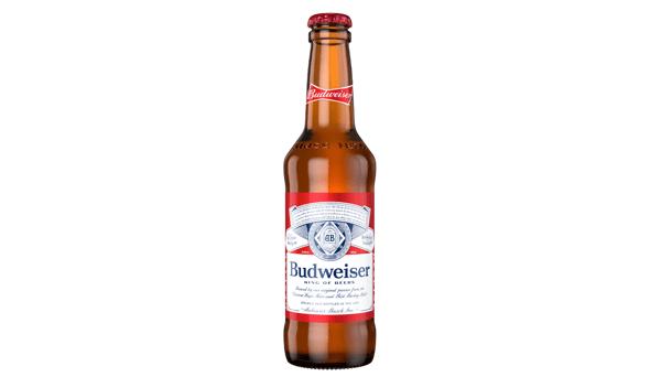 Budweiser (5%) [12oz BOTTLE]