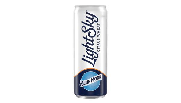 """Blue Moon """"Light Sky"""" (4%) [12oz CAN]"""