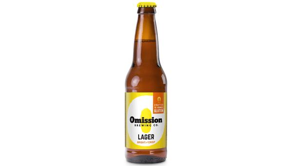 """Widmer Bros. """"Omission Lager"""" (4.6%) [12oz BOTTLE]"""