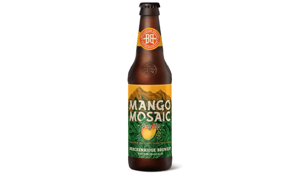 "Breckenridge Brewing Co. ""Mango Mosaic"" (5.5%) [12oz BOTTLE]"