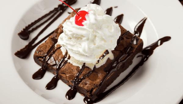Giant Brownie Sundae